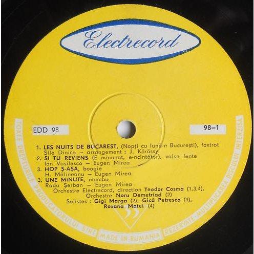 ELECTRECORD ORCHESTRA / NORU DEMETRIAD.. UNTETLED