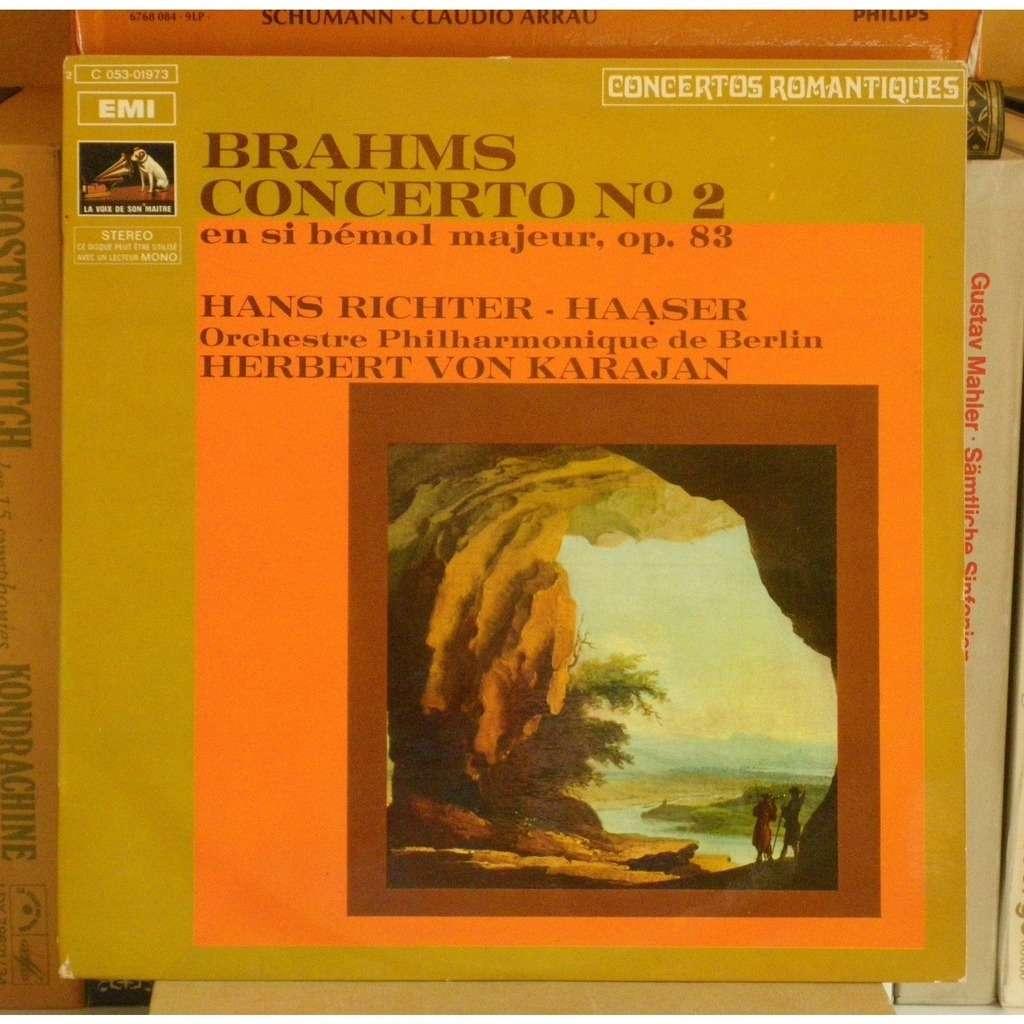 Brahms Concerto Pour Piano 2 Hans Richter Haaser Herbert Von