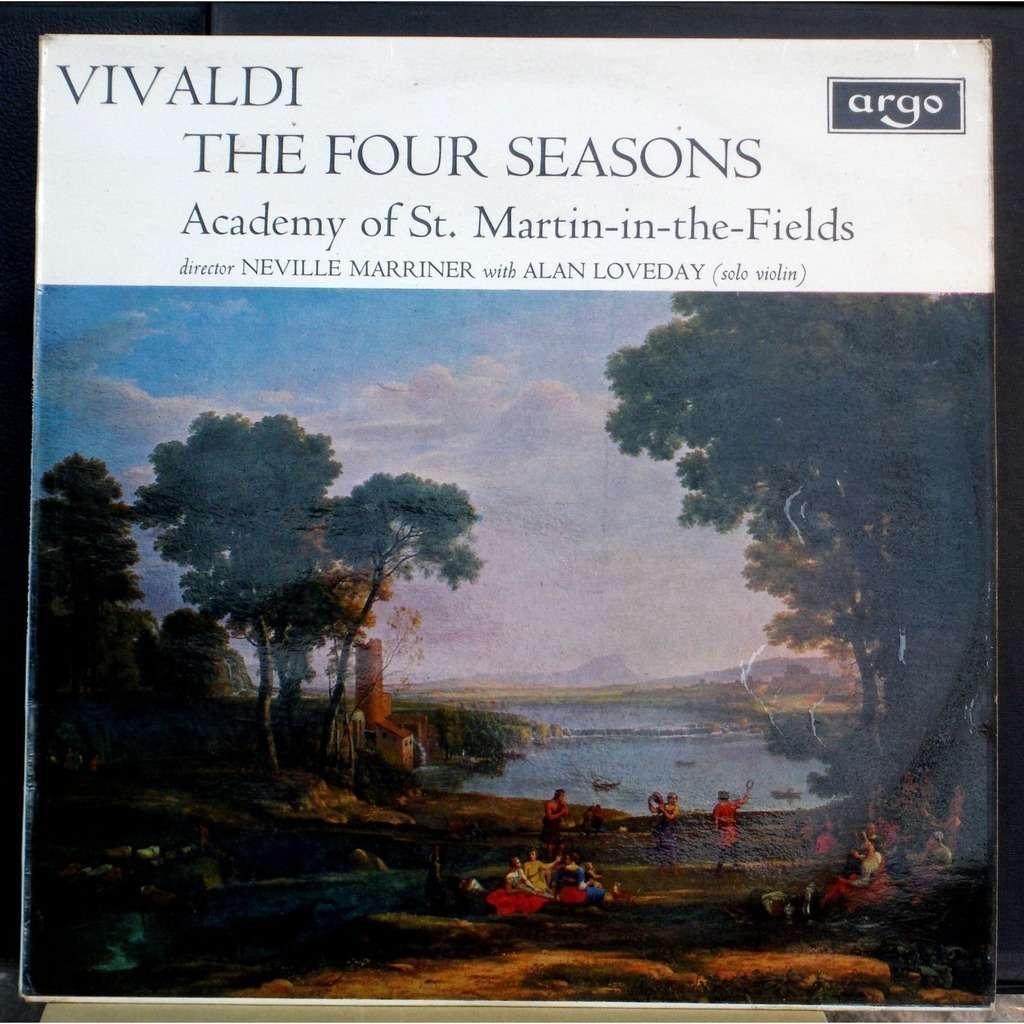 Vivaldi the four seasons les quatre saisons loveday for Les jardins 4 saisons