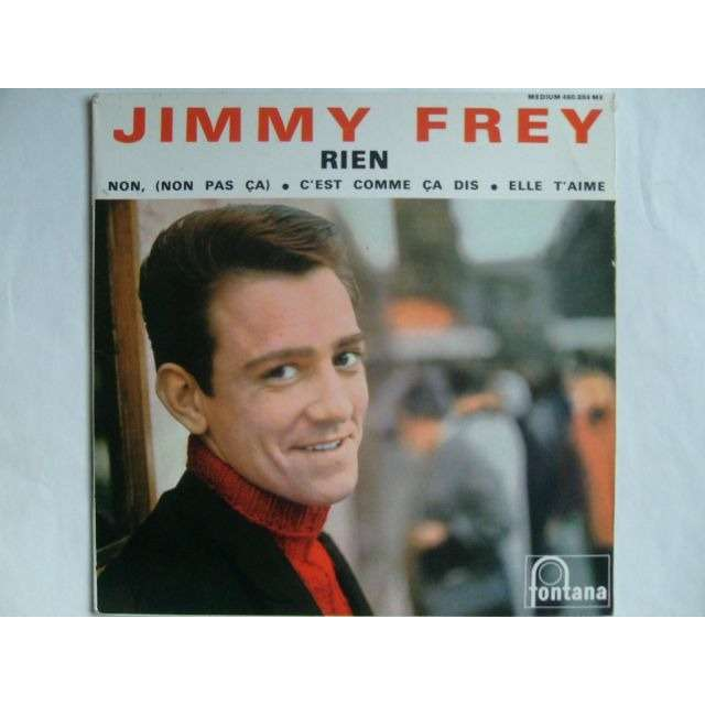 jimmy frey rien non c 39 est comme a dis elle t 39 aime 7inch ep for sale on. Black Bedroom Furniture Sets. Home Design Ideas